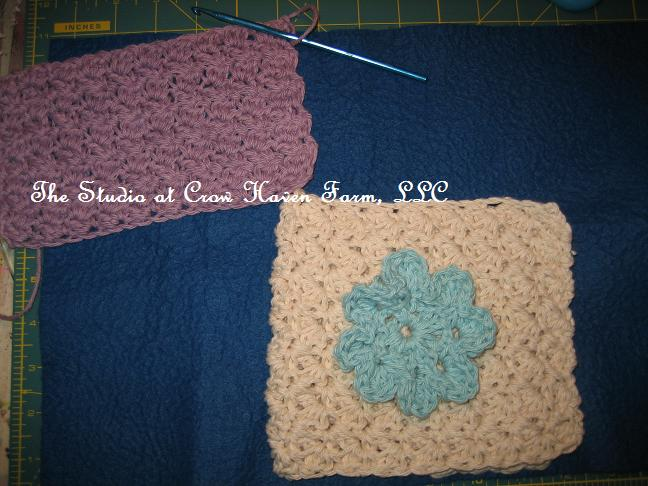 ... to Crochet, Journals, Knitted Washcloths & Happy Mothers Day
