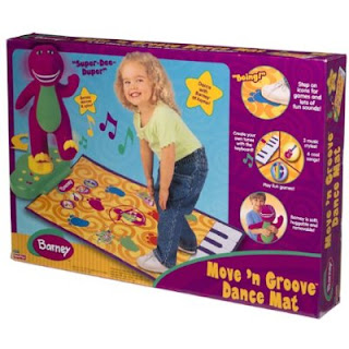 AIN'S Preloved Items..: Ain's Preloved Fisher Price Barney Move 'n Groove Dance Mat (Sold)