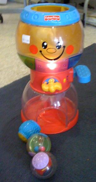 AIN'S Preloved Items..: Ain's Preloved FISHER PRICE Roll-a-Rounds: Swirlin' Surprise Gumball (SOLD)