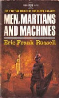Cover image of short story collection titled Men, Martians and Machines by Eric Frank Russell