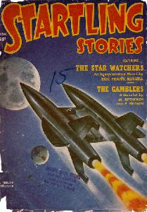 Cover image of Startling Stories magazine, November 1951 issue