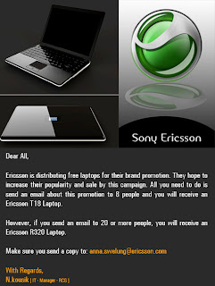 Sony Ericsson R320 Laptop