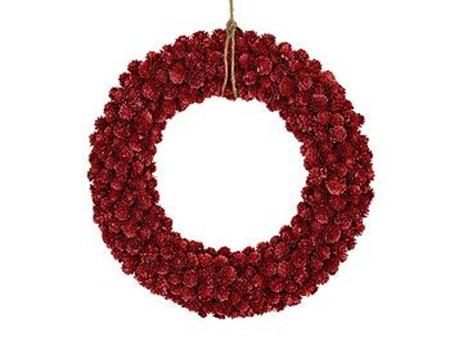 Navidad y mucho mas coronas de navidad para la puerta de casa - Adornos de navidad para la puerta ...