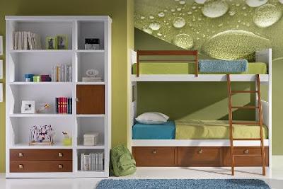 Decorar dormitorios juveniles con literas decoraci n de - Dormitorios con literas juveniles ...