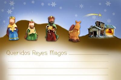Cartas para los Reyes Magos