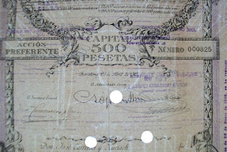 watermark showing shipping flag of the Compañia Trasatlantica