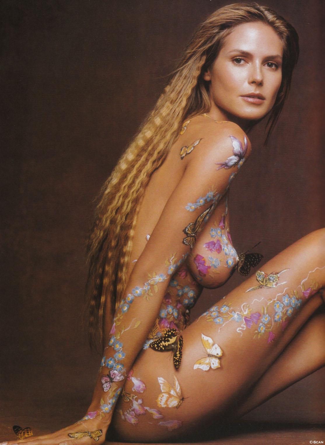 Heidi Klum – Ultimate body paint collection | jasonbeale