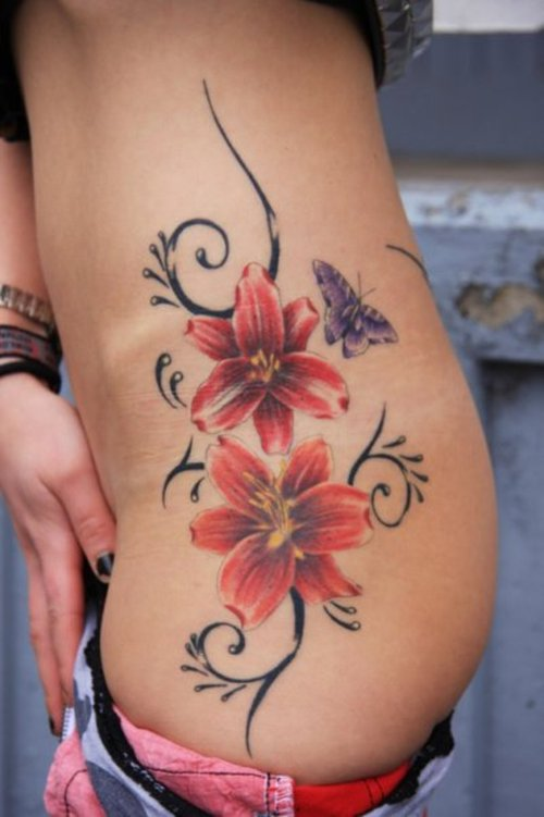 Nice Flower Tattoos Flower Tattoos For Woman