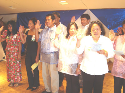 MGA INDUCTED OFFICERS