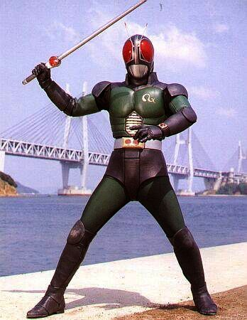 Kamen Rider on Kamen Rider Black Rx