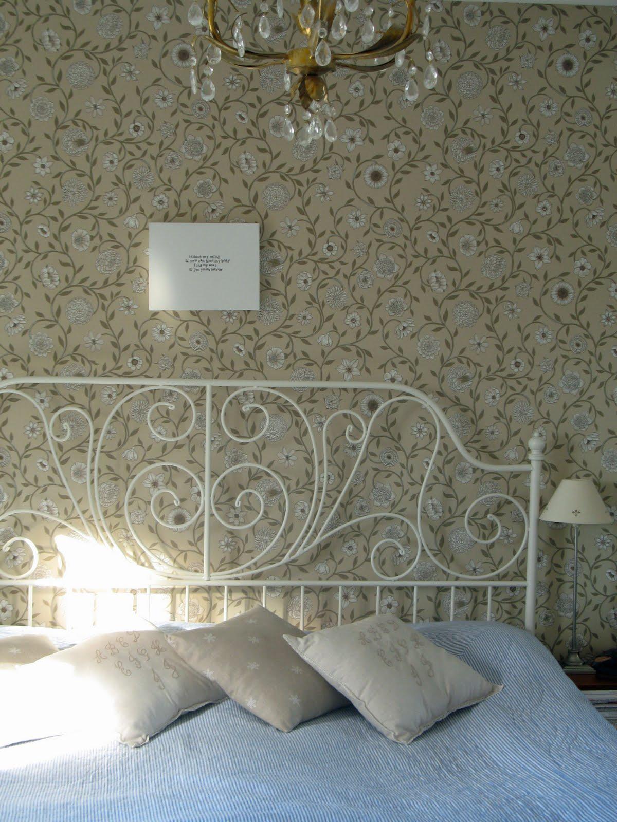 Önskedrömmar i hvitt: sovrummet