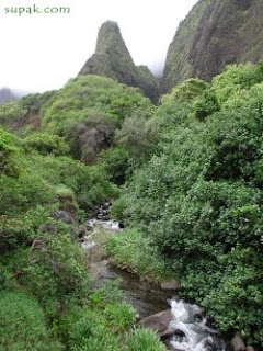 The Iao Valley Needle on Maui Hawaii