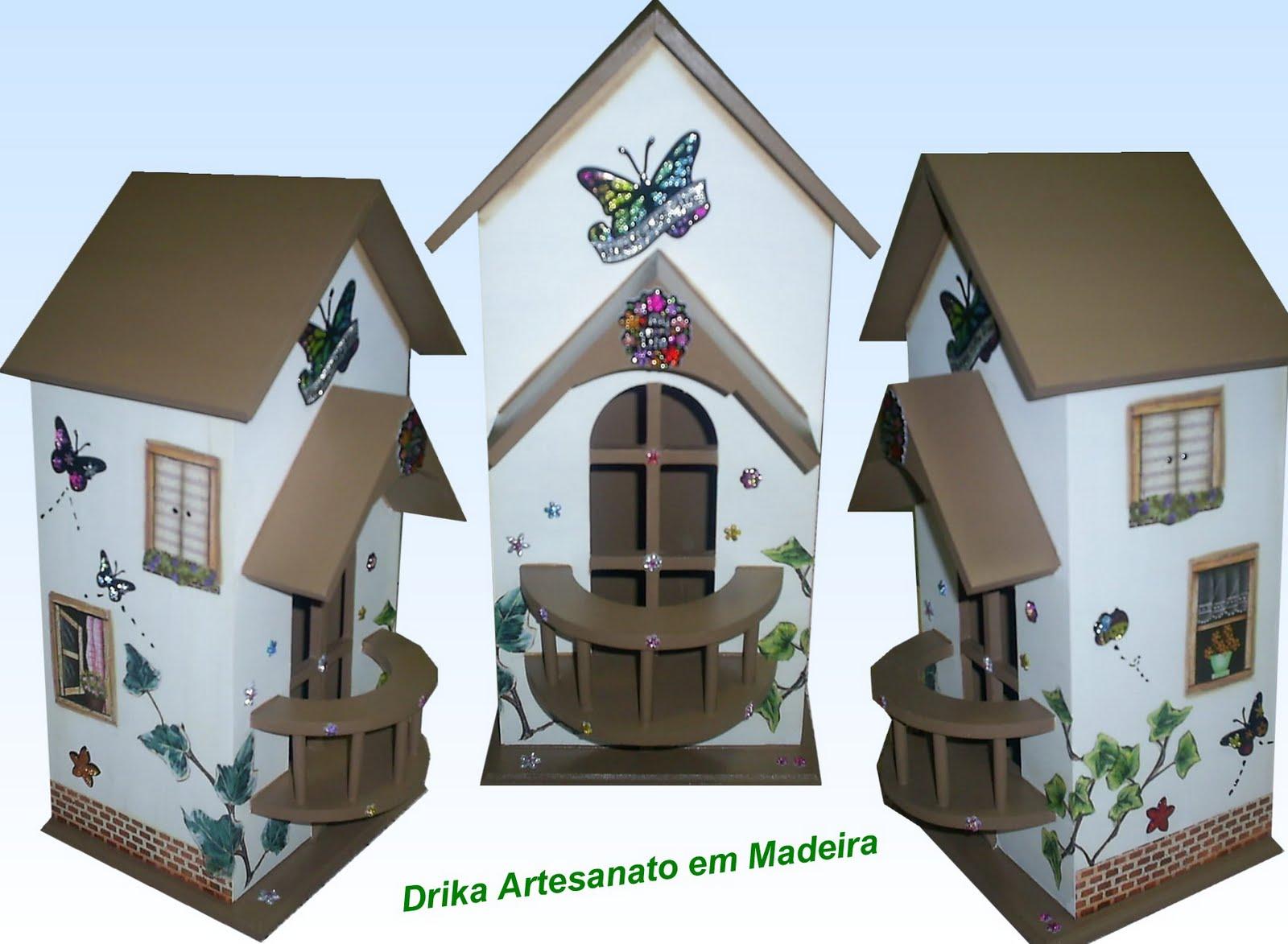 Drika Artesanato em Madeira