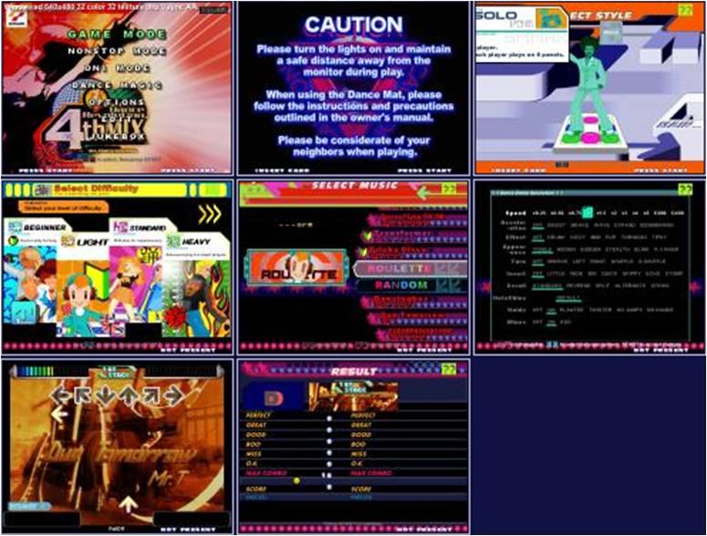 Step Mania 3.9 (dance dance revolution para pc) Imagen2
