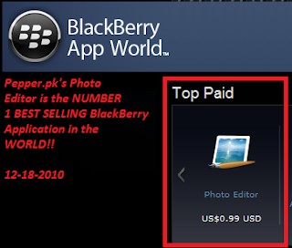 Blackberry Best Selling Application