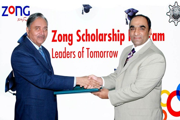 Scholarships to UET Students by Zong