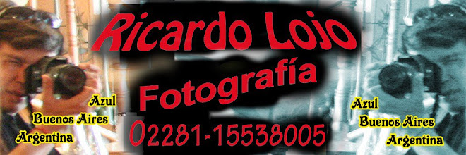 RICARDO LOJO FOTOGRAFIA 02281-15538005