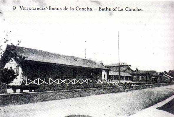 Balneario da praia da Concha