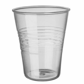 Vaso plastico transparente para orquideas