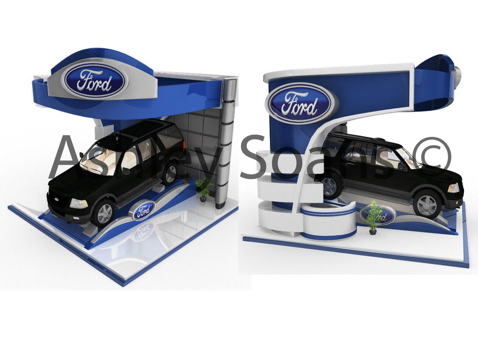 What Does Expo Stands For : As arts exhibition stand for ford