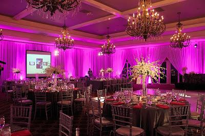 Weddings florist washington dc for Fish centerpieces wedding receptions