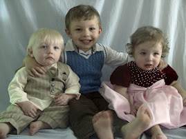 jack 4, Gus and Greta 15 months