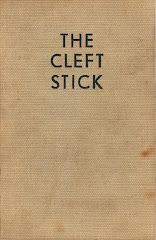 <i>The Cleft Stick</i> - Walter Greenwood