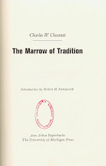 <i>The Marrow of Tradition</i> – Charles W. Chesnutt