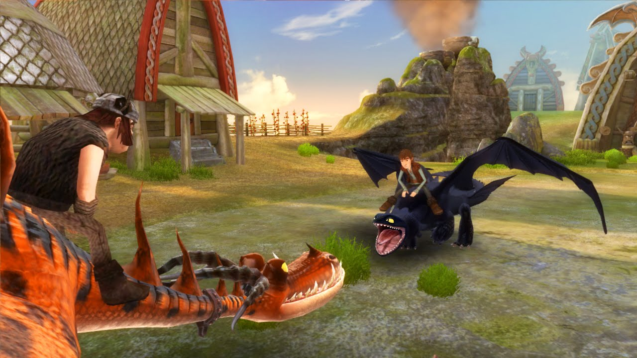 how to train your dragon ds game