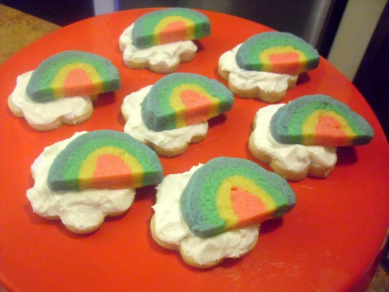 how to make rainbow cookies kat
