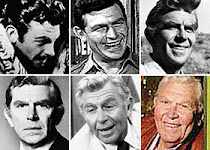 Many faces of Andy Griffith