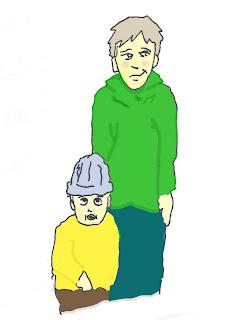 Overhørt mellom en far og hans sønn på ca 5 år
