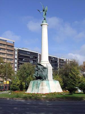 Plaza de las Batallas de Jaen, por detrás.