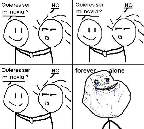 Forever Alone:el meme imagenes
