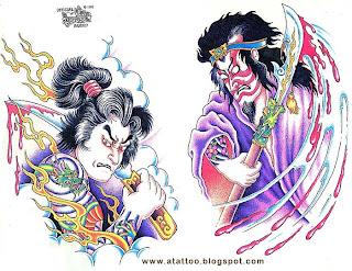 Samurais Tatuados