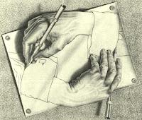 Pintura de M.C. Escher