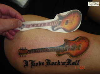 Guitarra Tattoo