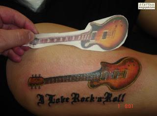 Guitarra Tattoo