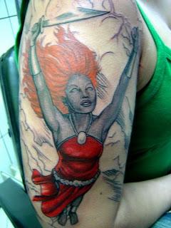 Iansã Tattoo
