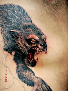 Lobisomem Tattoo