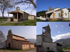 Iglesias preromanicas, conventos