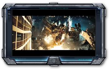Transformer 10 skin keren VLC Media Player