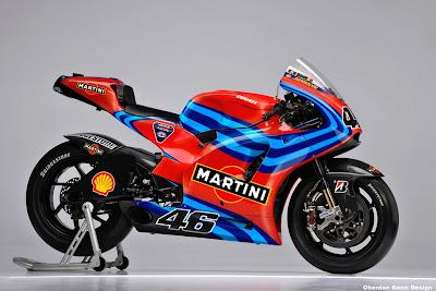 2011 Ducati Martini  MotoGP- Valentino Rossi