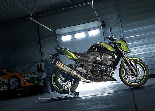 Kawasaki Z750R 2011 Video demo