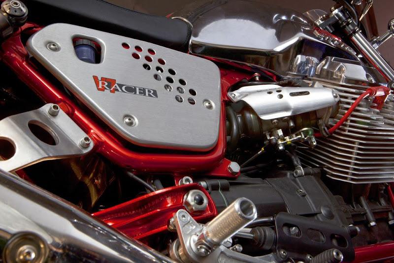 2011 modify Motor Guzzi V7 Cafe Racer extreme