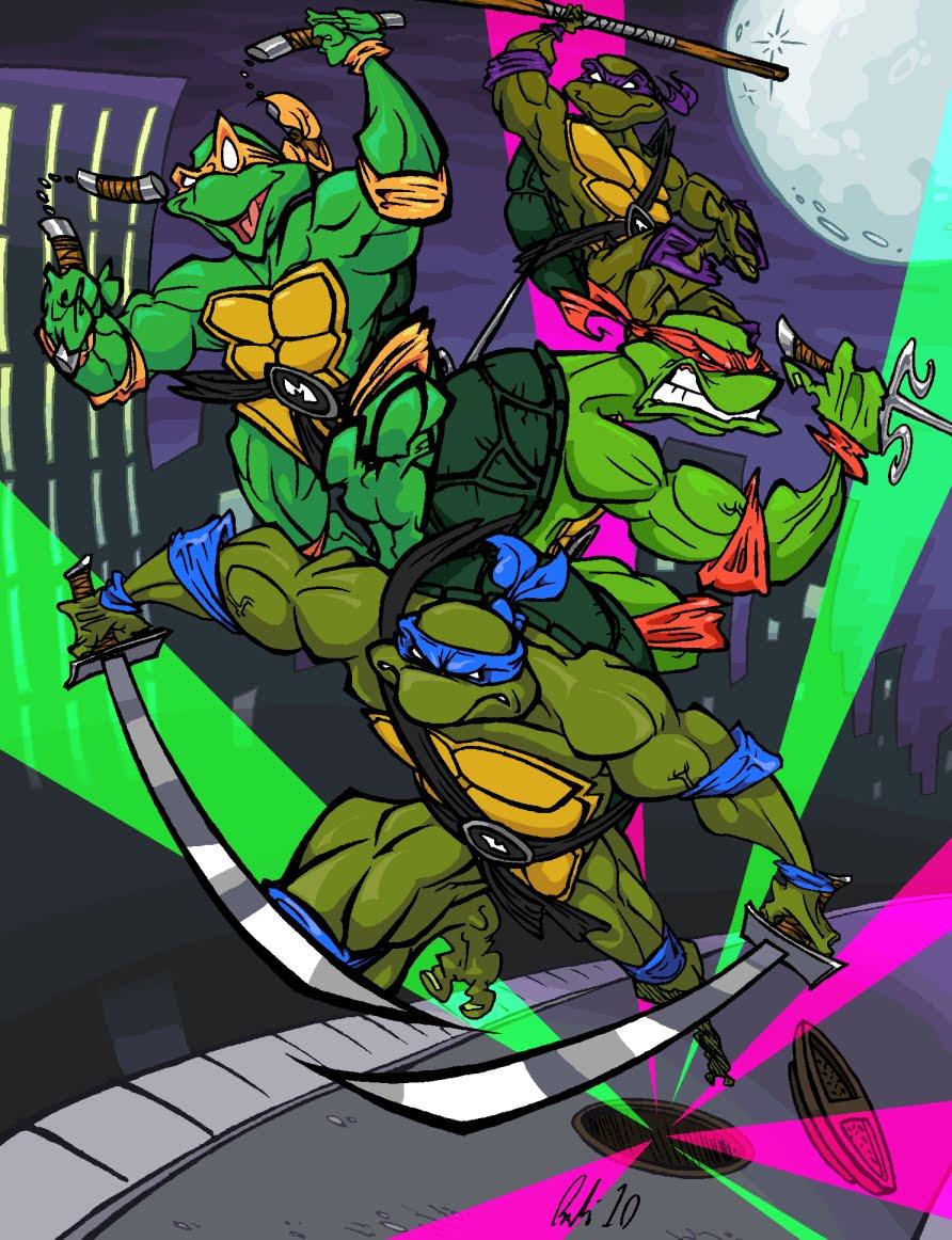 Ninja Kaplumbağalar Oyunları Planet Çocuk