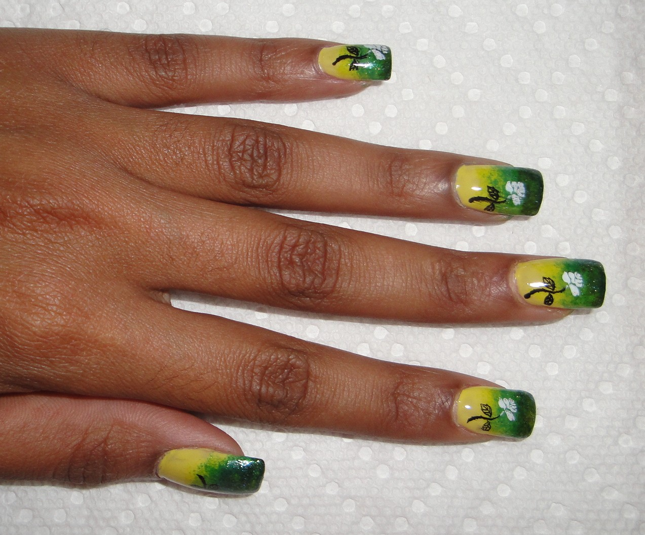 Nail Art Designs From Jamaica: Most beautiful flags nail art design ...