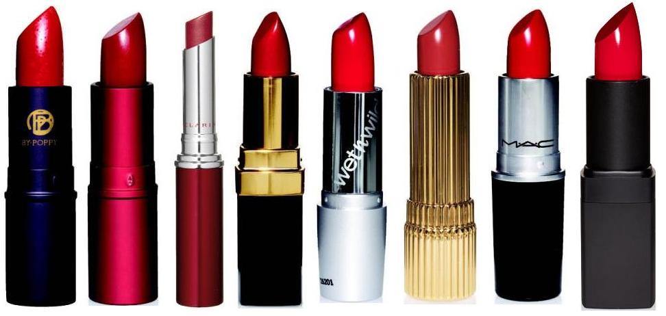 The Fancy Face: Lipstick Finishes...MAC and GENERAL