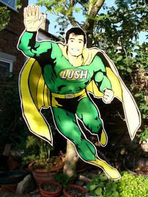 Super Vegan Superhero Lush Man