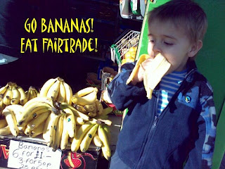 Go Bananas in Support of Fairtrade Fortnight